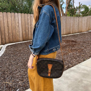 Authentic VTG Louis Vuitton Jeune Fille Crossbody